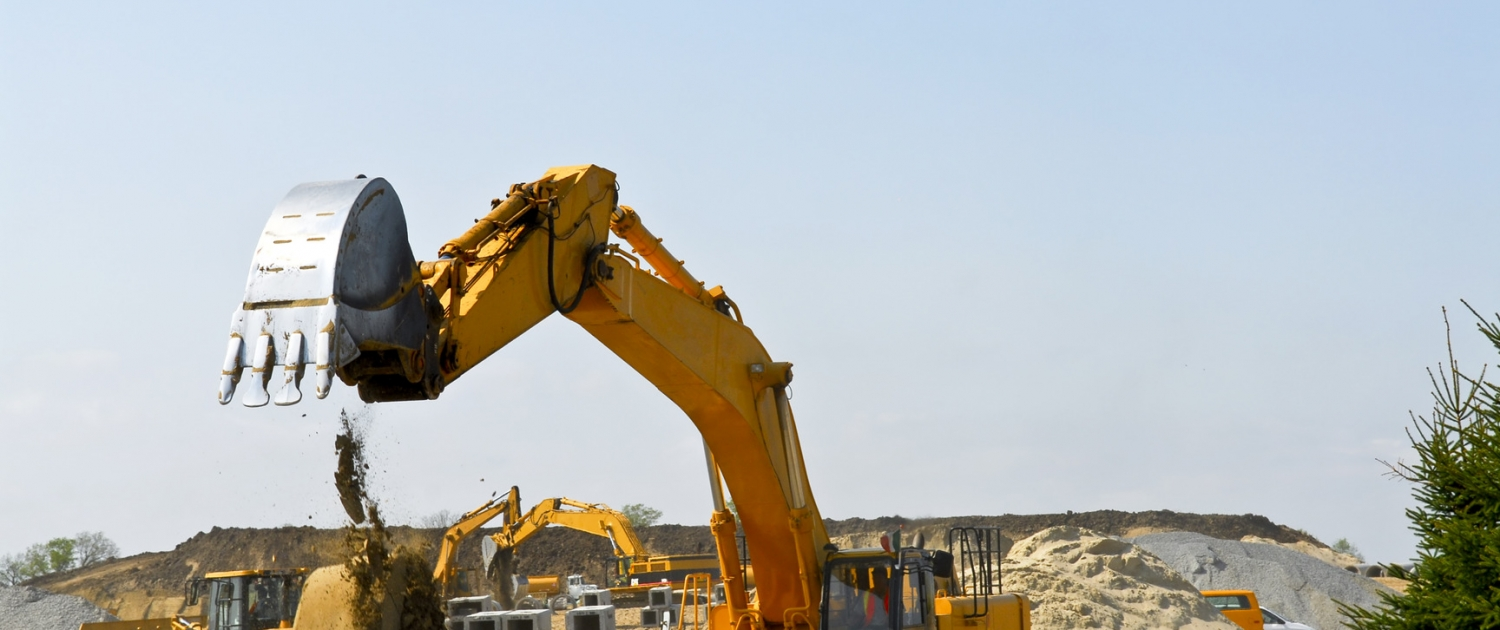 Construction construction site machines 1500x630